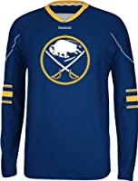 NHL Buffalo Sabres Men's Edge Long Sleeve Jersey Tee