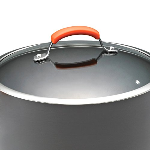 Rachael Ray Hard-Anodized 10-Quart Covered with