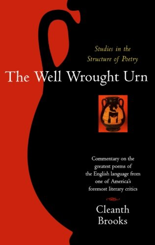 The Well Wrought Urn: Studies in the Structure of (Series Coffee Urn)