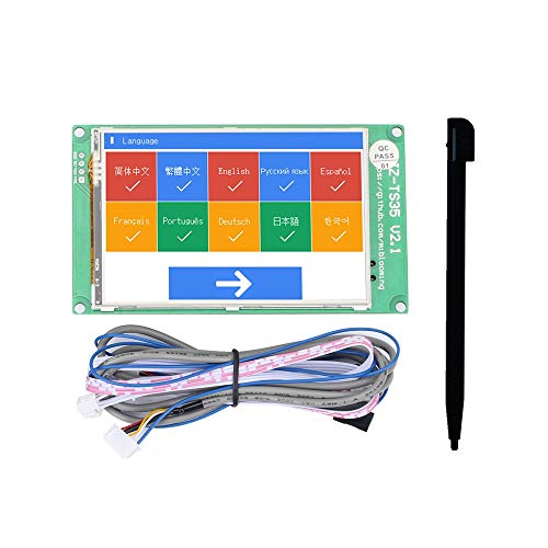 Zamtac Jz-Ts35 3.5-Inch Touch Screen Display Board Compatible with Ramps1.4 Mega2560 Marlin 3D Printer Accessories - (Size: -) by GIMAX (Image #1)