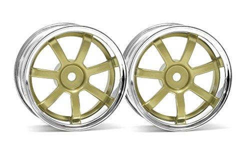 HPI Racing 3319 Rays Gram Lights 57S-PRO Chrome/Gold 3mm (Gram Lights)