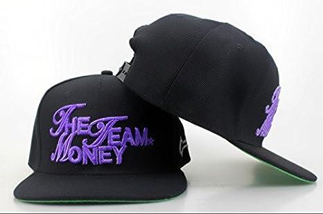 Hip Hop ajustable The Money Team - Gorra de béisbol Lua: Amazon.es ...