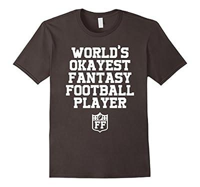 World's Okayest Fantasy Football Player T-Shirt Funny Tee