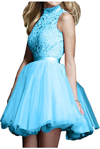 Topkleider Vestido mujer Azul para trapecio WYzwYHq6