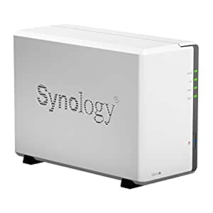 Synology DiskStation 2-Bay (2x 2TB NAS Drives) Network Attached Storage (NAS) DS215j 2200