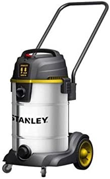 Stanley SL18402-8B 6.0 Peak HP 8 Gallon S.S. Wet Dry Vac with Wheels Heavy Dolly