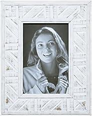 Porta Retrato Tribal Para Foto Kapos Branco 15 x 10 cm