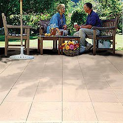 Exceptional 16u0026quot; Synthetic Pavers   Set Of 20 (Stone Beige) (1u0026quot; ...