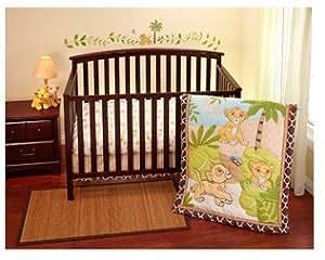 Amazon Com Disney Lion King Simba 3 Piece Crib Bedding