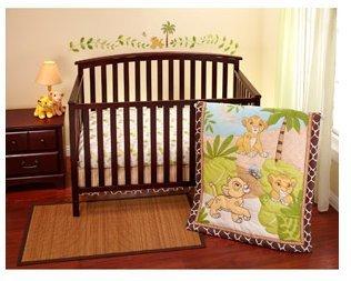 Disney - Lion King Simba 3-piece Crib Bedding Set