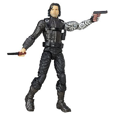 Marvel 6-Inch Legends Captain America Civil War Winter Solider Action Figure