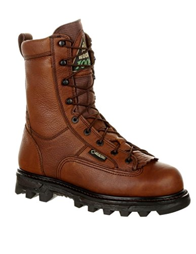 Rocky Outdoor Boots Mens Leather Cordura Nylon 12 WI Brown FQ0009234