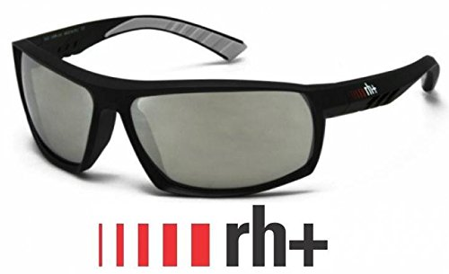 Brille Fahrrad Rh + Mod.ORION schwarz Matten graue Gläser