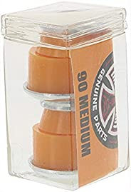 Independent Standard Cylinder Cushions Orange Skateboard Bushings - 2 Pair with Washers - 90a
