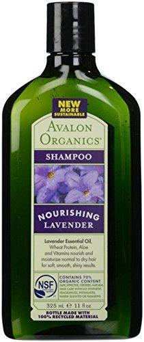 Avalon Organic Botanicals, Shampoo, Lavender, 11 oz ()