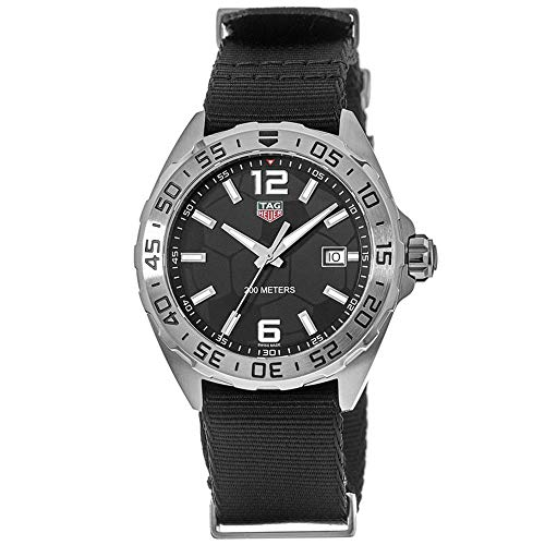 Tag Heuer WAZ1015.FC8198 Formula 1 Mens Watch with Black Dial