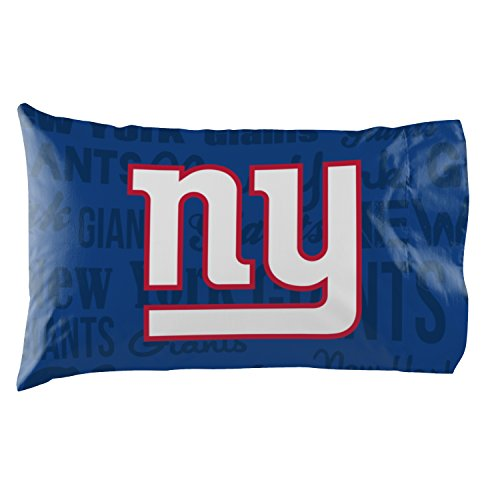 New York Giants - Set of 2 Pillowcases - NFL Football Bedroom Accessories ()