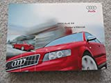 Original 2004 Audi S4 Owners Manual - 359 Pages