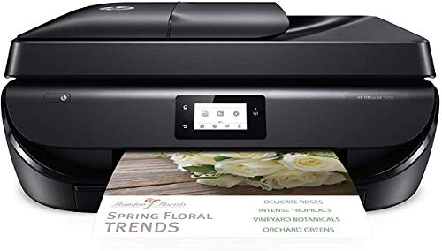Hp Officejet 5255 Wireless All In One Printer Hp Instant Ink Amazon Dash Replenishment Ready M2u75a Black