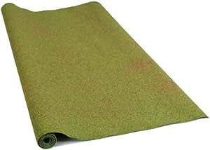 Busch 7229  - Área de amapola alfombra y flores de verano [importado de Alemania]