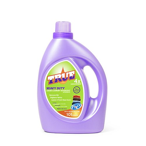 True Laundry Detergent 101 Fluid Ounces (1)
