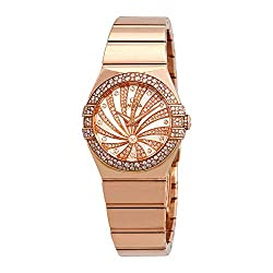 Constellation Mother of Pearl Diamond Dial Watch