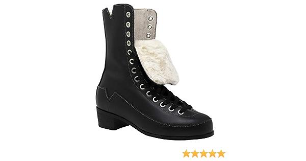 VNLA Godfather Roller Skate Boots for Men and Women Boots Only Artistic or Rhythm Roller Skating