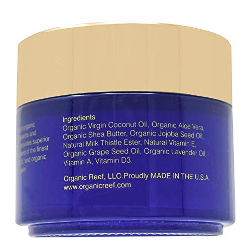 41LWM0pzg7L - Best Organic Anti-Aging Face Cream - Day and Night Cream to Smooth Wrinkles for Women and Men, Moisturizer with Organic Coconut Oil, Lavender, Essential Oils, Vitamins A, D3, and E