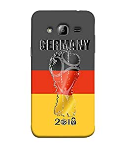 colorking Football Germany 03 Multi Color shell case cover for Samsung On7