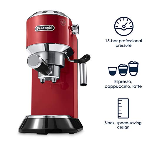 Delonghi DEDICA - Máquina de espresso con bomba de coche (15 ...