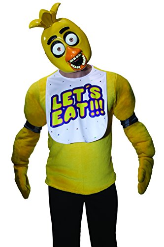 Rubie's Costume Five Nights at Freddy's Chica Half Mask (Scary Freddy Krueger Costume)
