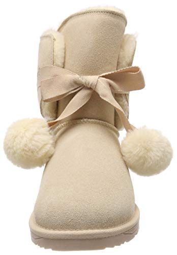 Beige amp; Bottines Toggle Luna Bottes Souples Femme 295 Esprit cream qw0n17n