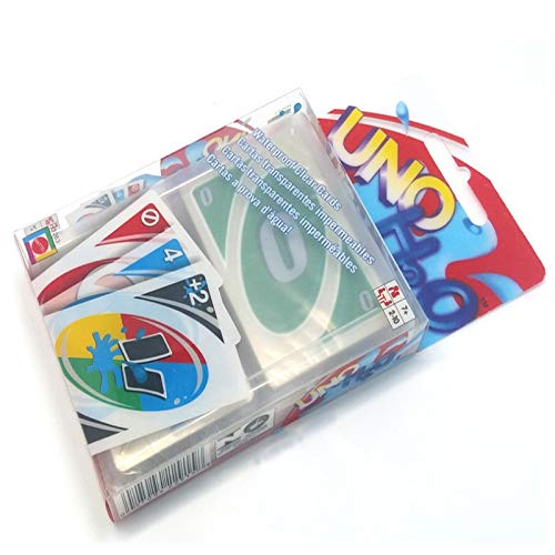 Amazon.com: Transparent Game Playing Cards PVC Waterproof ...
