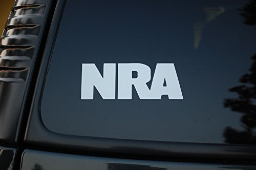 NRA Sticker Vinyl Decal (V59) Gun Rights Rifle National Rifle Association CHOOSE SIZE/COLOR! (5.5