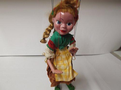 Vintage 1950-1960 Pelham Puppets Gretel Marionette Puppet (Vintage Marionette)