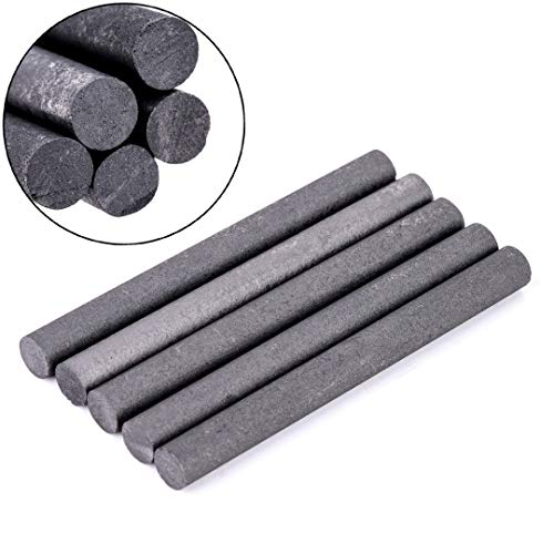 Disc Roloc - 5pcs Black 99.99 Graphite Electrode Cylinder Rods Bars 100x10mm - Cell Electronics Beauty Home Phones Health Sports Garden Toys Accessories Computers Girls Events Weddings
