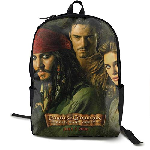Pirates Of The Caribbean Backpack - Pirates Of The Caribbean Anime Theme