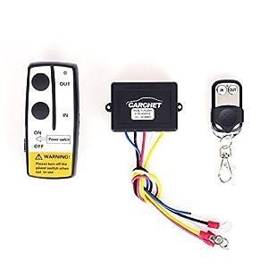 CARCHET Wireless Winch Remote, 12 V wireless winch remote control kit for Truck Jeep ATV Winch