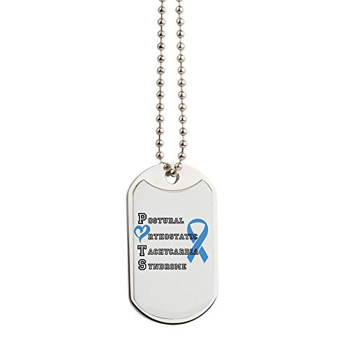 CafePress - Potsaware - Military Style Dog Tag, Stainless Steel with Chain ()