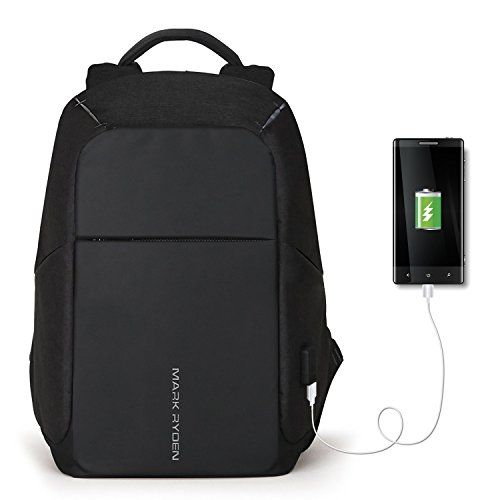 Cheap GUANKE Anti-Theft Laptop Backpack, Business Bags USB Charging Port School Travel Pack Fits 15.6 inch Laptop Bag