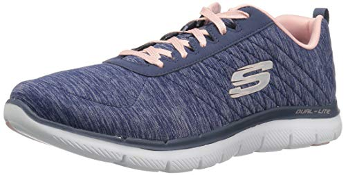 Skechers Women's Flex Appeal 2.0 Sneaker,navy,9.5 M US