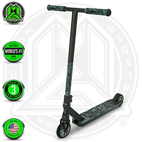 Madd Gear MGP Action Sports Kick Pro Scooter (Black/Silver 2019) (Gear Pro Madd Scooter)