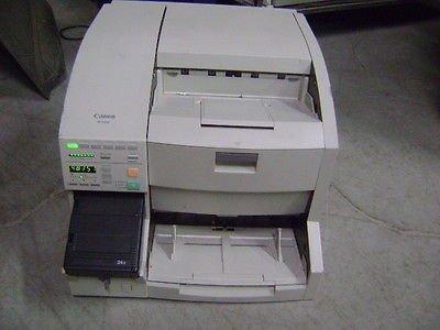 Canon Dr-5060F Hybrid Microfilm Scsi Scanner 24X Camera Microfilmer 48,351 Count