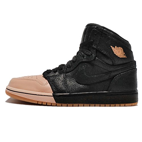 Nike Air Jordan 1 Retro Hi Prem Womens Style: AH7389-007 Size: 9 Black/Metallic Gold (Air Jordan 1 Black And Gold For Sale)