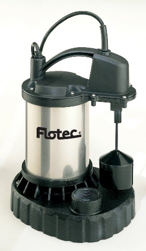 Flotec FPSC3250A 1/2 HP Submersible Cast Iron Sump (Flotec 1/2 Hp Cast Iron)