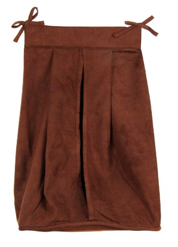 Trend Lab Diaper Stacker, Brown Suede