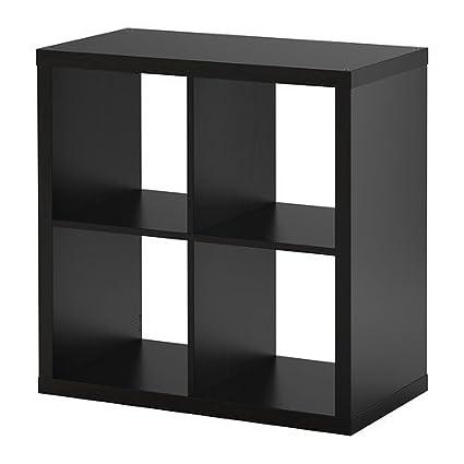 ; Kompatibel mit EXPEDIT 77x77cm Ikea KALLAX Regal schwarzbraun;