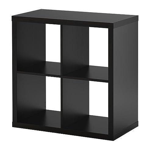Bücherregal expedit  IKEA KALLAX Regal schwarzbraun; (77x77cm); Kompatibel mit EXPEDIT ...
