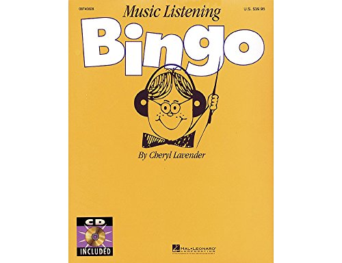 Hal Leonard Music Listening Bingo (Hal Leonard Composer Bingo Game)