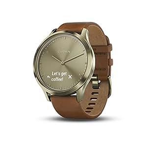 Garmin vívomove HR Premium Hybrid Smartwatch - Gold, S/M